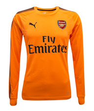 Arsenal FC 17/18 Kids Goalkeeper Away Jersey