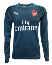 Arsenal FC 17/18 Kids Goalkeeper Home Jersey