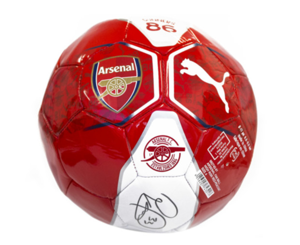 Petr Cech Signed Arsenal FC Ball