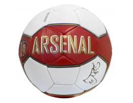 Petr Cech Signed Arsenal FC Fan Puma Ball