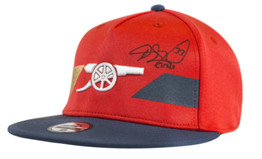 Petr Cech Signed Arsenal FC High Risk Red Puma Cap