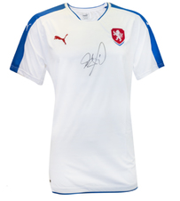 Petr Cech Signed Czech Republic Away Jersey