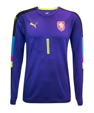 Petr Cech Signed Czech Republic Goalkeeper Home Jersey